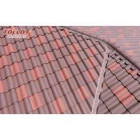批发陶瓷瓦片 260*260 欧式别墅琉璃瓦屋顶屋面防水西班牙瓦片,仿古园林陶瓦