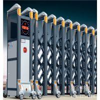 铝合金电动伸缩门|伸缩门厂家就选湖南赛富自动门