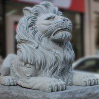 惠安厂家汉白玉石狮子青石天安门石雕狮子定制批发