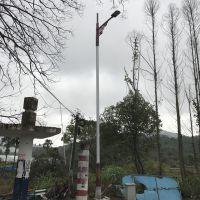 供应湖北新农村特色扶贫建设6米30瓦FNZH伍玖照明0324太阳能LED路灯