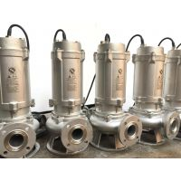 不锈钢排污水泵100-65-18-5.5潜水污水泵
