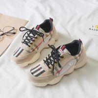 网红同款厚底系带运动鞋2018秋新款百搭ins超火的鞋子韩版休闲鞋