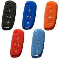 大师款汽车折叠钥匙包丰田本田雪铁龙钥匙改装DS遥控套硅胶钥匙包