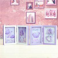 创意礼品zakka情人节礼物honey熊相框情侣两折双面照片墙983-11