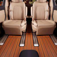 别克gl8木地板脚垫全包围商务车7座改装实木2018新款别克GL8脚垫