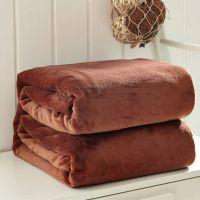 小毯子办公室午睡毯夏季午休毯美容院毛毯被子单人盖腿毯珊瑚绒毯
