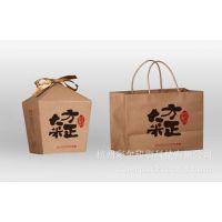 大米包装袋 牛皮纸袋 2公斤5公斤大米手提纸袋 定做厂家