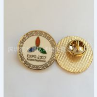 烤漆上色徽章 企业周年纪念徽章 促销礼品胸章 LOGO徽章定制