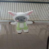 加工生产 毛绒玩具动物系列冰箱贴 强磁性冰箱贴公仔