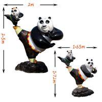 仿真熊猫雕塑厂家 仿真熊猫雕塑价格 仿真熊猫雕塑直销处