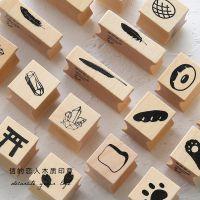 .信的恋人木质印章 装饰系列 原木橡胶手帐相册日记装饰DIY