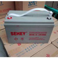 SEHEY西力蓄电池SH100-12 UPS不间断电源专用12v100ah
