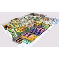 室内大型蹦床公园网红蹦蹦床淘气堡儿童乐园设备定制