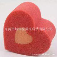 胶贴海绵激光切割机 裁剪绒布复合海绵裁切寝具棉高速运行成本低