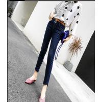 牛仔裤处理秋冬女装牛仔裤批发在哪里有特价库存韩版牛仔裤货源批发