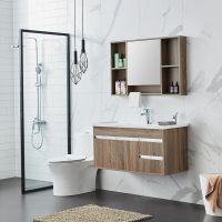 佛山 多层实木免漆浴室柜 简约 洗漱台组合柜卫生间 卫浴柜一体