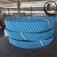 玻璃钢圆形冷却塔填料安装教程——河北龙轩