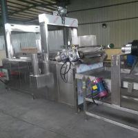 诸城神州机械厂家直销 电加热自动连续式油炸线 食品真空油炸设备