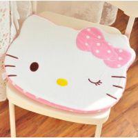 凯蒂猫波点海绵坐垫 办公室加厚坐垫 椅子坐垫坐垫椅垫