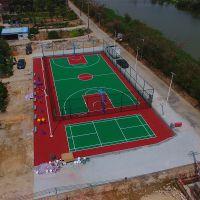 中山市西区柏克体育专业施工篮球场、网球场、羽毛球场画线等