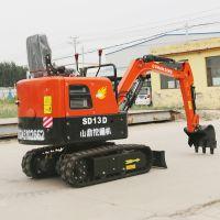 重庆挖地面土坑种植农用微型挖掘机 反铲家用小型挖掘机产地货源