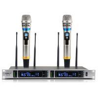 专业无线话筒SH22一拖二真分集远距离300米会议舞台婚庆KTV麦克风