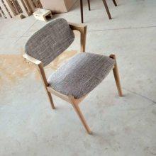 扶手圈椅实木餐椅 洽谈椅子 实木Z椅子厂 进口白橡实木餐椅系列