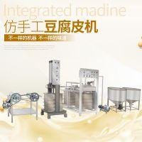 豆腐皮机系列厂家专卖 仿手工豆腐皮机器 日本(鸡蛋)豆腐皮机