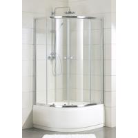 莱博顿整体浴室带浴缸浴盆弧扇形淋浴房老人洗澡间玻璃隔断屏移门