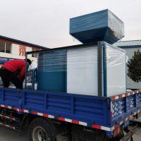 2吨热水锅炉改造使用生物质颗粒燃烧机压块燃料蒸汽锅炉热值