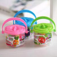 新款小号迷你套装彩泥 十二色橡皮泥 儿童DIY益智玩具厂家直销