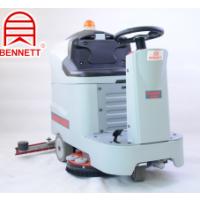 双刷盘驾驶式洗地机武汉瑞威捷高端洗地机系列