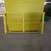 仓库隔离栏 绿色铁丝围网 开发区围网现货