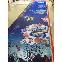 珠海海底世界墙贴 儿童房可爱小鱼贴纸定制厂家