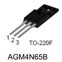 芯控源AGM4N65F高压MOS管