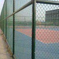清远浸塑护栏网现货 学校球场护栏网 菱形包塑网