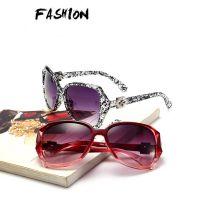 女士复古大框太阳镜 时尚经典女款墨镜防紫外线眼镜