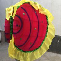 河蚌道具蚌壳精贝壳表演花蚌河蚌精贝壳旱船毛驴年会舞蹈演出道具
