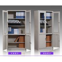 西安安卓钢制铁皮文件柜 资料柜 档案柜带锁 可订制