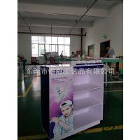 雪弗板PVC发泡板展柜 锦瀚开发的专利技术易组装型的促销展柜工厂