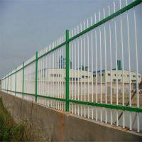 小区围墙栅栏 锌钢农村建设护栏 学校隔离栏杆厂家