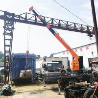八骏随车吊机3吨 多功能小起重机 三轮运输车安装吊机 微型三轮起重设备
