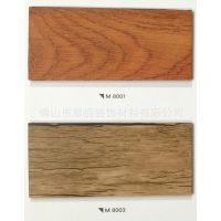 酒店PVC石塑地板 木纹环保地板 耐磨片材地板胶 厂家直销佛山现货