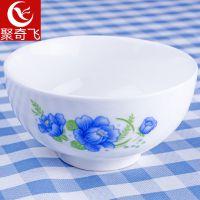 出口欧美外贸陶瓷餐具 简约日式陶瓷汤碗 批发4.5寸家用陶瓷面碗