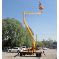 济南华工厂家供应曲臂式升降平台柴油电瓶机高空作业升降车