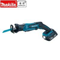 makita牧田充电式往复锯DJR185马刀锯锂电木工切割锯多功能家用手提伐木锯 4.0Ah