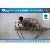 绥芬河潜孔施工80T快速跟管起拔器