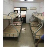 学生公寓床,工地上下铺铁床,重庆铁架床厂家直销