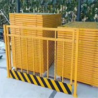 现货供应黄黑基坑护栏网 建筑工地施工临时隔离围挡 基坑临边围栏 洞口防护栏