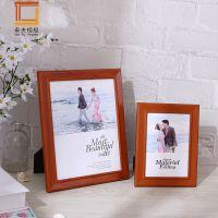 热卖批发木质相框欧式6.7.8.10寸a4婚纱摆台相架画框摆件性价比高